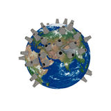 Kernenergie Royalty-vrije Stock Foto