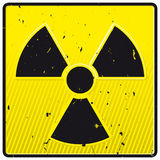Kernkraftsymbol Lizenzfreies Stockbild