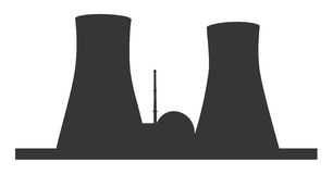 Kernkraftwerk Lizenzfreie Stockfotos