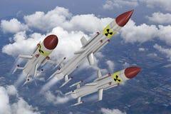 Kernraketten Stock Foto's