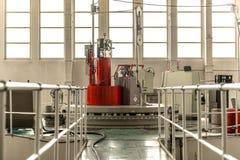 Kernreactor in een wetenschapsinstituut Stock Foto