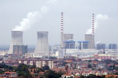 Kernreaktor Stockfotos