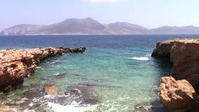 Keros-Insel stock video footage