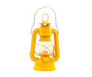 Kerosene lamp isolated Royalty Free Stock Image