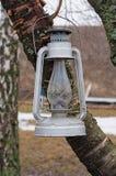 Kerosene lamp Royalty Free Stock Images