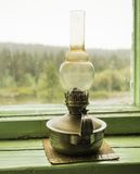Kerosene lamp Royalty Free Stock Images