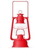 Kerosene lamp vector illustration Royalty Free Stock Images