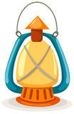 Kerosene lantern. Illustration of isolated kerosene lantern on white background royalty free illustration
