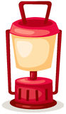 Kerosene lantern. Illustration of isolated kerosene lantern on white background vector illustration