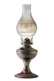 Kerosene lantern lamp  isolated on white background . Royalty Free Stock Images