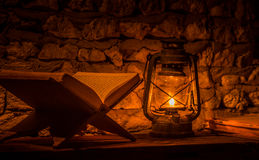 Kerosene lantern Stock Photography