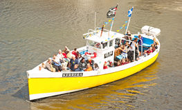 Kerrera segling på Whitby Arkivfoto