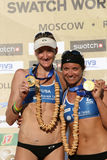 Kerri Walsh and Misty May-Treanor Royalty Free Stock Images