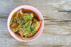Kerrievissen, het voedsel van Thailand Stock Foto's