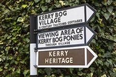 Kerry Bog Village na República da Irlanda imagem de stock royalty free