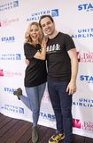 Kerry Butler & Rob McClure at 2019 Stars in the Alley stock photo