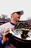 Kerry Collins, 2000 champions de NFC Photo libre de droits