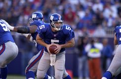 Kerry Collins new york giants Obrazy Royalty Free