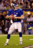 Kerry Collins in Super Bowl XXXV. New York Giants QB Kerry Collins.  (image taken from color slide Royalty Free Stock Image