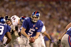 Kerry Collins in Super Bowl XXXV. New York Giants QB Kerry Collins.  (image taken from color slide Stock Images