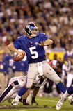 Kerry Collins, Super Bowl XXXV. Quarterback Kerry Collins of the New York Giants in action during Super Bowl XXXV. (Image taken from color slide Stock Photos