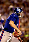 Kerry Collins, Super Bowl XXXV. Quarterback Kerry Collins of the New York Giants in action during Super Bowl XXXV. (Image taken from color slide Royalty Free Stock Photography
