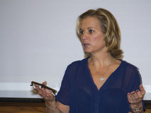 Kerry kennedy portrait conversation royalty free stock photo