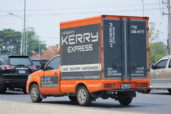 Kerry logistisk behållarepickup Royaltyfri Bild