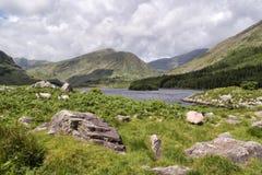 Kerry Mts Cummeenduff roztoka Fotografia Stock