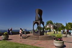 Kerry Park, Seattle, State Washington, USA. Stock Images