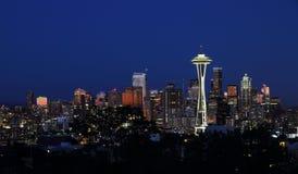 Kerry Park, Seattle, Whashington, Etats-Unis Photographie stock libre de droits