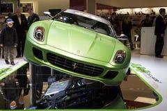 kers y ferrari принципиальной схемы автомобиля Стоковое Изображение