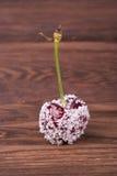 Kersen in suiker Royalty-vrije Stock Foto