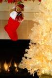 Kerstavond Stock Fotografie