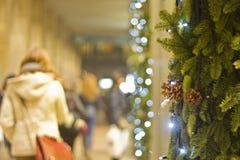 Kerstavond Stock Afbeeldingen