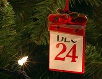 Kerstavond Royalty-vrije Stock Foto