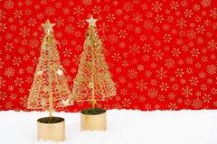 Kerstbomen Stock Afbeelding