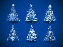 Kerstbomen. Royalty-vrije Stock Foto's