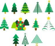 Kerstbomen Stock Fotografie