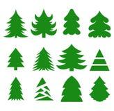 Kerstbomen Stock Afbeeldingen