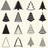 Kerstbomen Royalty-vrije Stock Afbeelding