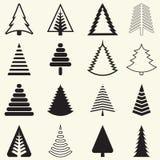 Kerstbomen Stock Foto