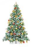 Kerstboom. Royalty-vrije Stock Afbeeldingen
