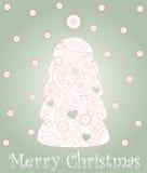 Kerstboom Stock Foto
