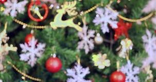 Kerstboom, stock video