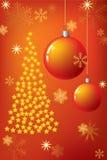 Kerstboom. Stock Afbeelding