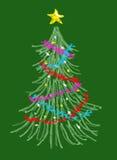 Kerstboom 2 Stock Fotografie