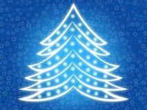 Kerstboom 2 Stock Foto