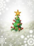 Kerstboom 2011 Stock Afbeeldingen