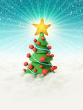 Kerstboom 2011 Royalty-vrije Stock Afbeeldingen